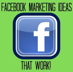 Facebook Marketing Ideas #Infographic #FacebookTips #Marketing