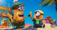 minions on the beach with ice block. Minions, in Despicable Me Such funny cartoons to keep the kids entertained! Amor Minions, Despicable Me 2 Minions, Minions Love, Minions 2014, Minion Stuff, Minions Quotes, Minion Toy, Minion Banana, Russell Brand