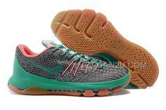 online store 2dc35 efb78 Cheap Kd 8 Men Grey Green Pink Hong Kong Nike Casual Shoes, Nike Kd Shoes