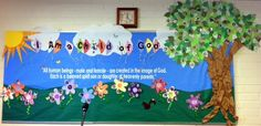 Little LDS Ideas-great bulletin board idea!