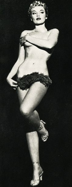 lily st. cyr ( Famous 50's Showgirl )