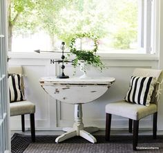 Table inspiration for distressed look.