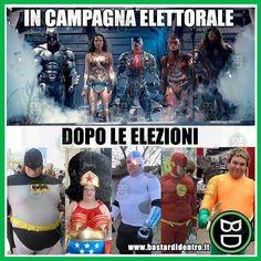 Metafora #politica .... #bastardidentro #perfettamentebastardidentro #supereroi www.bastardidentro.it