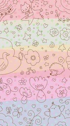 77 best whatsapp wallpaper images in 2018 Wallpaper Pastel, Cute Wallpaper For Phone, Nursery Wallpaper, Kawaii Wallpaper, Tumblr Wallpaper, Cool Wallpaper, Wallpaper Ideas, Daisy Wallpaper, Cute Backgrounds