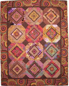 Quilt Inspiration: Simple shapes: jelly roll quilts and other confections