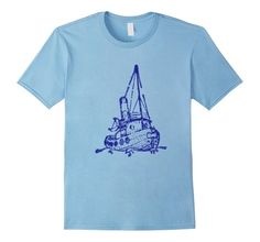 Amazon.com: Vintage Fishing Boat Design T-Shirt: Clothing