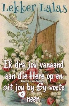 Night Quotes, Morning Quotes, Afrikaanse Quotes, Goeie Nag, Goeie More, Good Night Sweet Dreams, Bible Prayers, Things To Think About, Qoutes