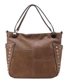 Look at this Coffee Mara Shoulder Bag on #zulily today!