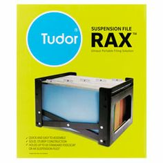 Product image for Tudor Rax Filing System Black