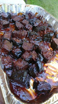 Smoked Brisket Burnt Ends Awesomeness – capturingminnesota