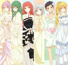 Kiseki no Sedai - girl version