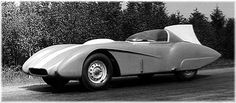 Record-prepared ZIL 112 RG  In 1962, one of the cars received a brand-new, more enclosed body and belly-pan fairing, covering all the mechanicals beneath the car, to attempt a run at a Soviet land speed record. The 112 RG, as it was named, was taken to the Astrakhan region to race on Baskunchak salt lake. But that year, Baskunchak was awash with rain - which, in fact, was almost never seen there - and the 112 RG reached only 200-230km/h. The tires  couldn't run faster on such a surface.