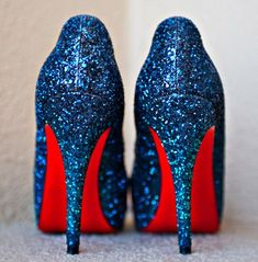 Fourth of July Wedding Shoes