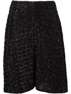 Shop Comme Des Garçons Noir Kei Ninomiya textured skirt in Kasuri from the world's best independent boutiques at farfetch.com. Shop 300 boutiques at one address.