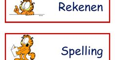 dagritmekaarten Garfield.pdf Projects To Try, Pdf, Teaching, Education, Learning