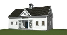 Small Barn Home w/ i