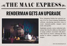 Maya Academy of Advanced Cinematics originally shared to Digital Art (3D Render):   #TheMaacExpress #Renderman #Upgrade #Pixar #Animation #Studios #News   #MaacIndia