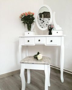Entryway Tables, Vanity, Vintage, Furniture, Home Decor, Vanity Area, Homemade Home Decor, Lowboy, Dressing Tables