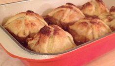 Apple Dumplings - I've made these before, a perfect fall / winter treat...serve with some vanilla ice cream!