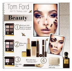 """""""""""Tom Ford"""" Beauty-Collection AW 2015"""" by alves-nogueira ❤ liked on Polyvore"""