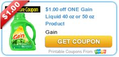$1.00 off ONE Gain Liquid 40 oz or 50 oz Product
