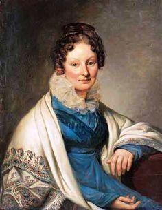 Боратынская (ур. Барышникова) Софья Ивановна . 1-я пол. 1820-х годов.