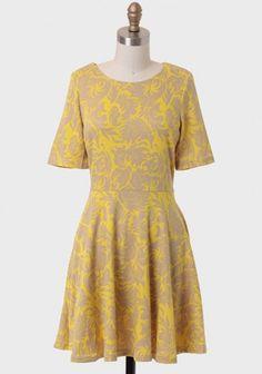 August Glow Printed Dress | Modern Vintage Dresses | Modern Vintage Clothing