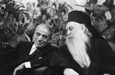:Aristotle Onassis Patriarch Athenagoras - aristoteles-onassis Photo