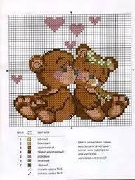Resultado de imagem para graficos de ponto cruz barrados infantil