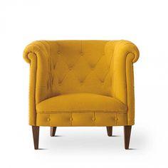 "LR at window, the ""wing chair"" alternative, (Modern retro Italian armchair 203 by Domingo Salotti)"