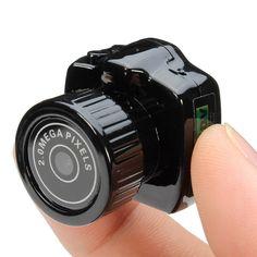 Y2000 2.0 Mega Pixe Smallest Mini HD Digital DV Webcam Video Camera Camcorder Sale-Banggood.com
