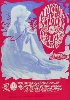 "PERFORMERS:  Moby Grape  Sparrow  The Charlatans  Ben Van Meter  Roger Hillyard     ARTIST: Stanley Mouse & Alton Kelley  DATE:Jan 13, 1967 - Jan 14, 1967  VENUE:Avalon Ballroom (San Francisco, CA)  SIZE:14 1/8"" x 20"""