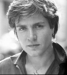 A young Simon LeBon, from the band Duran Duran. I had such a crush on him!