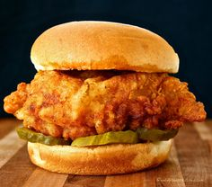 Best Copycat Chick-fil-A Sandwich (And their Mayo!) Best Copycat Chick-fil-A Sandwich (And their Mayo!) – Wildflour's Cottage Kitchen Spicy Chicken Sandwiches, Chicken Sandwich Recipes, Fried Chicken Sandwich, Chick Fil A Spicy Chicken Recipe, Spicy Chicken Recipes, Chick Fil A Tenders Recipe, Chickfila Chicken Recipe, Chick Fil A Cookie Recipe, Chik Fil A Chicken