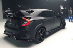 Right before SEMA 2016, the Super Street Network received an exclusive invitation for a private unveiling of the new Honda Civic Type R.