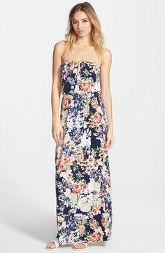 Trixxi Print Maxi Dress