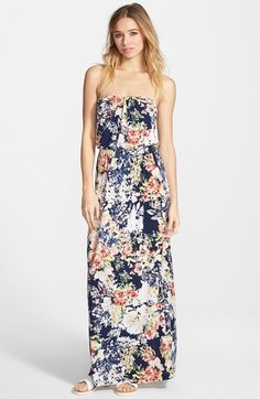 Trixxi Print Maxi Dress $38.90 at Nordstrom - BeautyNoBrainer's #Guide To Building Your #Summer #Wardrobe On A #Budget