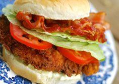 super crunch fried chicken BLT | ChinDeep
