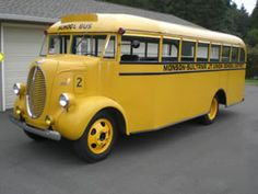 old yellow bus
