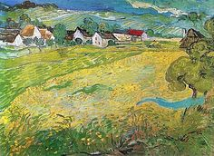 Sonnige Wiese bei Auvers, 1890 by Vincent van Gogh