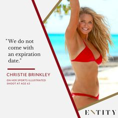 Christie Brinkley on self-love.