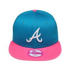 New Era Candy Snapback Atlanta Braves 9FIFTY Woman Damen Unisex Top