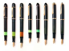fountain pens- I love writing with them