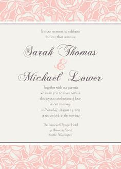 143 Best Invitation Thoughts Images Wedding Stationery