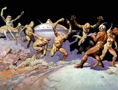 John Carter Of Mars Art | Frank+Frazetta
