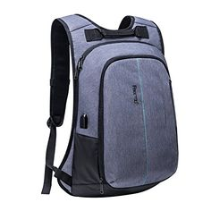 Laptop Backpack Freetoo Professional Lightweight Business Travel Rucksack Daypack Bag School Backpack with Tear Tesistant for 15 Inch Laptops for Business Trips Travel Hiking Gray * Read more  at the image link. (Note:Amazon affiliate link)