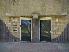 Amsterdamse School, De Klerk, Amsterdam.
