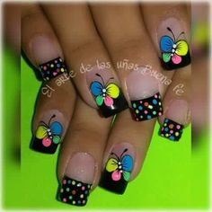 Discover recipes, home ideas, style inspiration and other ideas to try. Butterfly Nail Art, Nails For Kids, French Tip Nails, French Tips, Pinterest Diy, Winter Nails, Nails Inspiration, Style Inspiration, Pretty Flowers