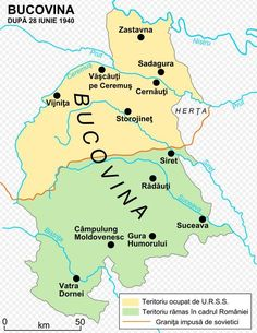 At Fântâna Albă massacre On April in Northern Bucovina between 200 and civilians were killed by the soviets in their attempt to cross the border from the Soviet Union to Romania. Ukraine, Romania Map, Transylvania Romania, Carpathian Mountains, Country Maps, Map Globe, Alternate History, Central Europe, Historical Maps