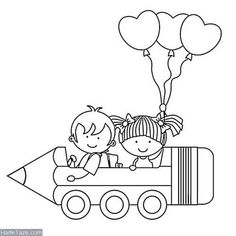 Fall Coloring Pages, Alphabet Coloring Pages, Coloring Pages For Kids, Coloring Books, Drawing School, Drawing For Kids, Art For Kids, School Board Decoration, School Decorations
